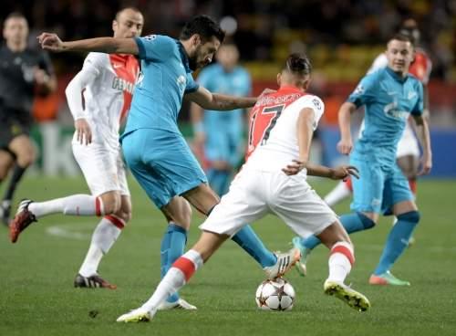 «Зенит» проиграл «Монако» вЛиге чемпионов