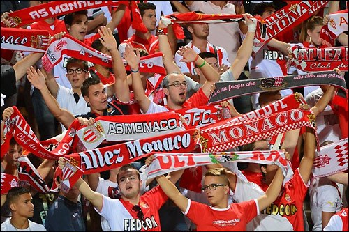 Болельщики клуба «Монако»